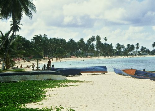 beach of San Andres
