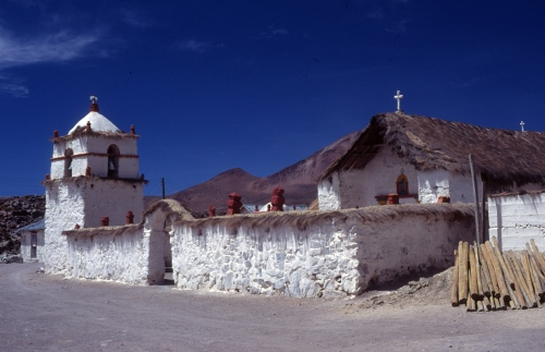 Andean church, Chile
