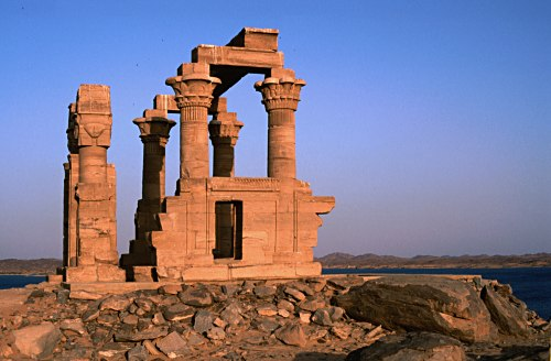 temple near Aswan, Egypt
