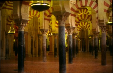 Mosque/Cathedral of  Cordoba, Andalusia, Spain. Photo: Laurenz Bobke