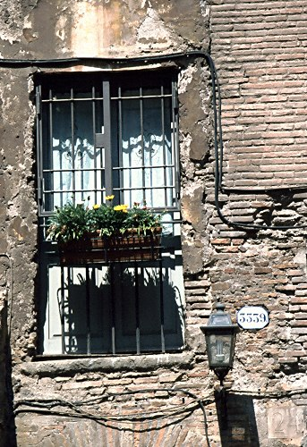 Rome: window